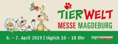Logo der Tierwelt Messe-Magdeburg