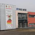 Eingang der Halle Messe